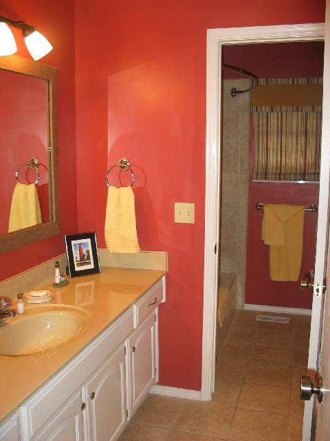 The guest bathroom.