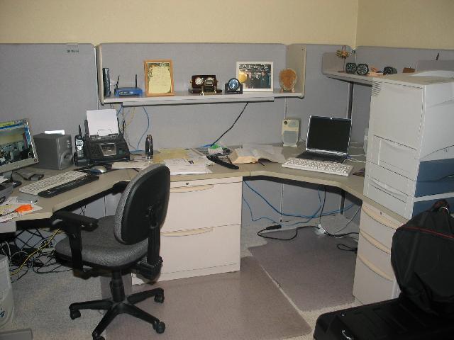 Bill's office.